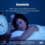 Insomnie - Tratează şi scapă de insomnii!