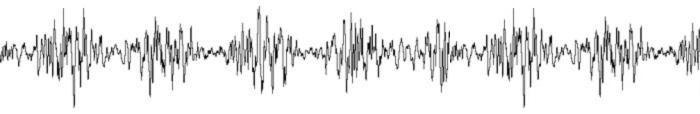 Exemplu de filtru (modulator de volum) aplicat coloanei muzicale